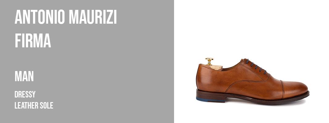 Antonio Maurizi Firma - dressy leather sole