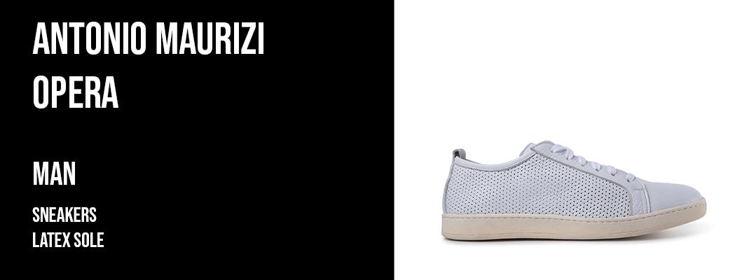 Antonio Maurizi Opera - man sneakers latex sole