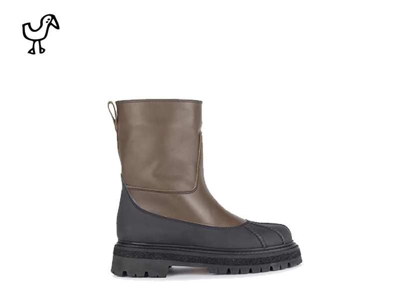 Elia Maurizi - woman rain boots commando sole
