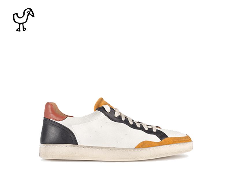 Elia Maurizi - man sneakers latex sole