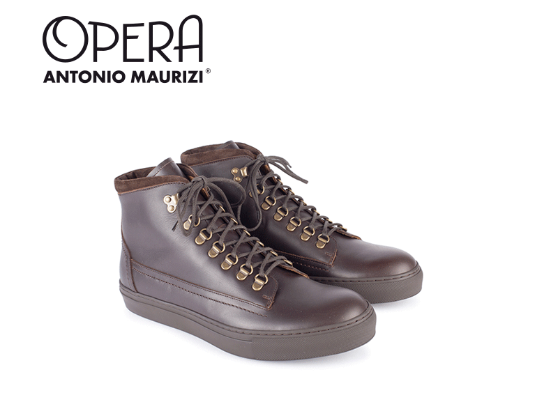 Antonio Maurizi Opera - hiking sneaker boots one unit rubber sole