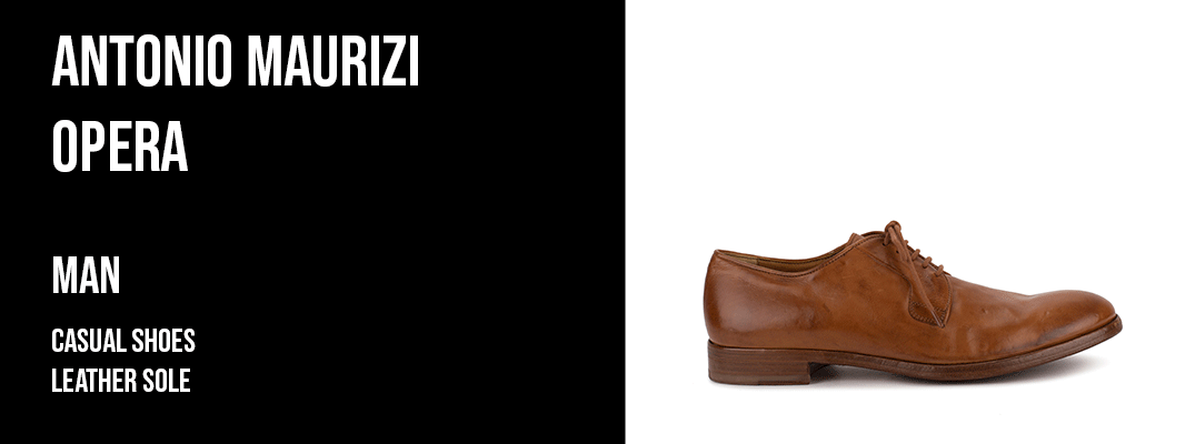 Antonio Maurizi Opera - casual shoes leather sole