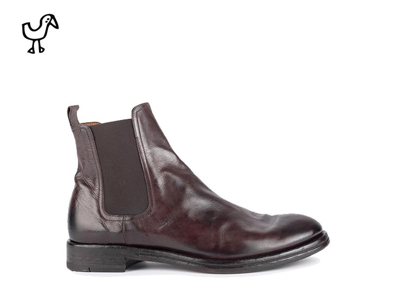 Elia Maurizi - man casual leather&rubber sole